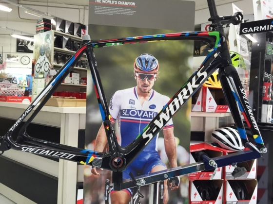 Telaio Tarmac S-Works in serie limitata Peter Sagan Replica‬