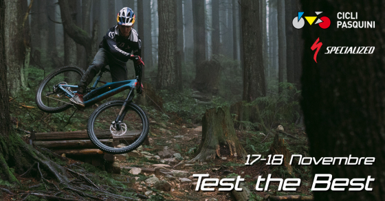 TEST BIKE SPECIALIZED 2019 17/18 NOVEMBRE