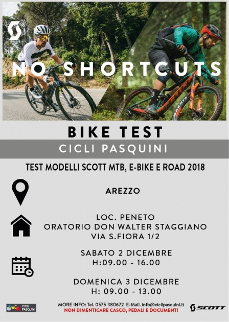 Test Bike Scott 2018