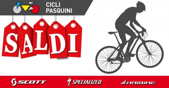Summer Sale !!! Saldi Cicli Pasquini