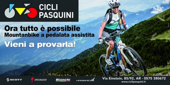TEST E-BIKE CICLI PASQUINI