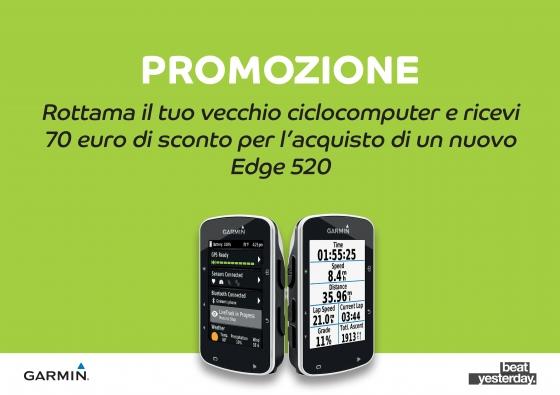 PROMO ROTTAMAZIONE GARMIN EDGE 520